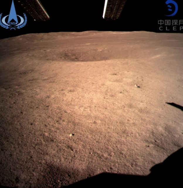 China lands on the 'far side' of the Moon