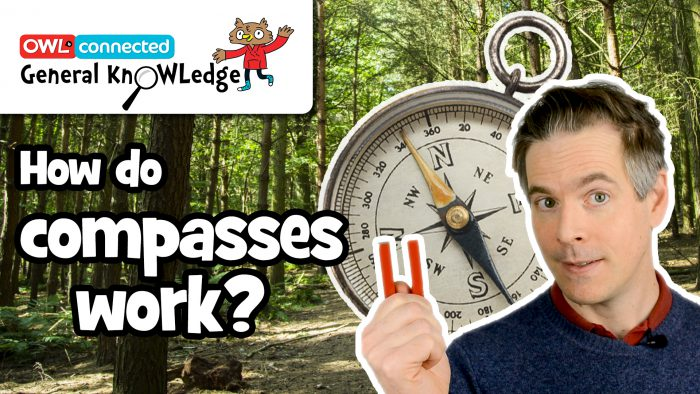 General KnOWLedge: How does a compass work?
