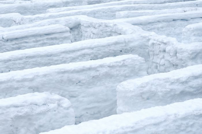 Manitoba snow maze is aiming to break records