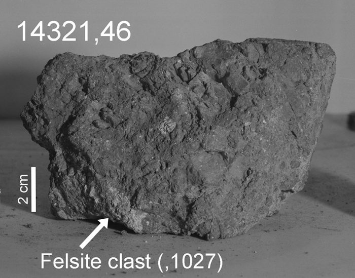 Study discovers ancient piece of Earth on a moon rock
