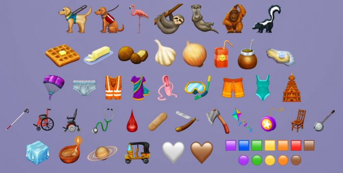 New emojis are on their way in 2019