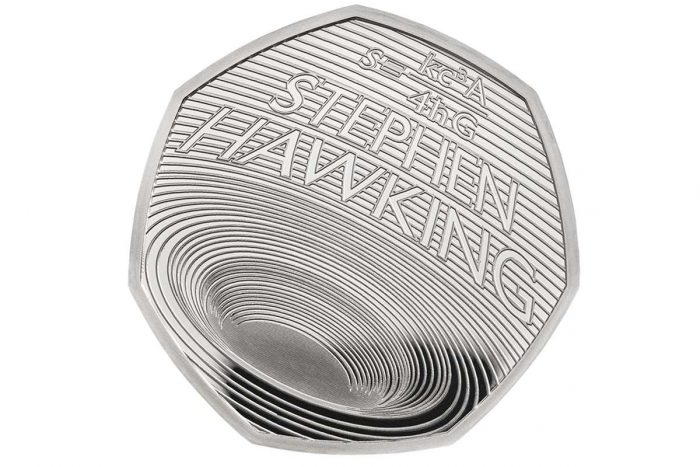 Bunnies and brains: Peter Rabbit and Stephen Hawking 50p coins
