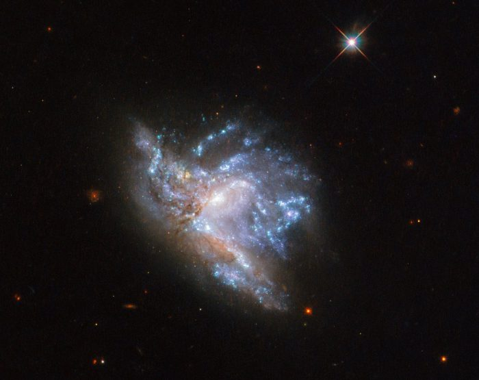 colliding galaxies