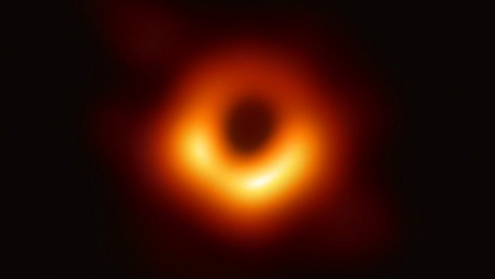 First-ever black hole photo revealed!