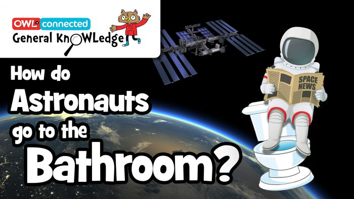 General KnOWLedge: How Do Astronauts Go To The Bathroom?
