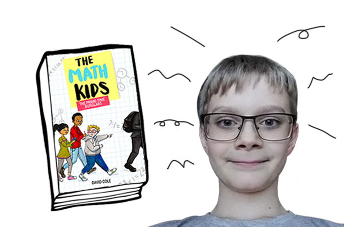 BOOK REVIEW and CONTEST: The Math Kids: The Prime-Time Burglars