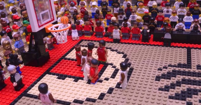 Watch THE SHOT by Kawhi in LEGO!