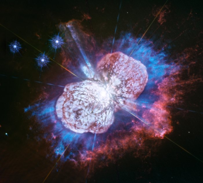 See new ultraviolet image of dying star