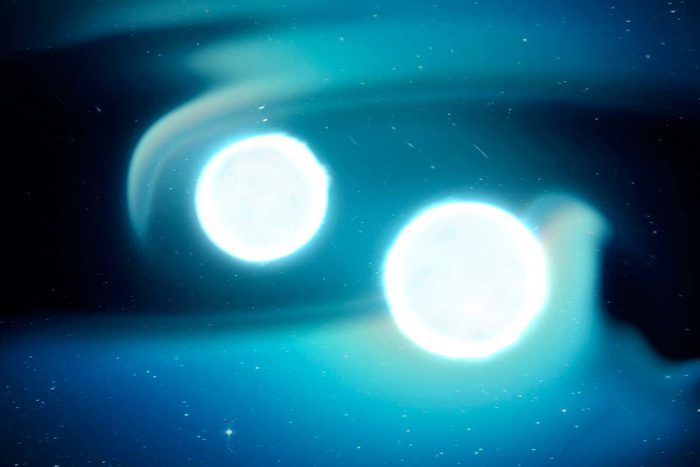 Record-breaking orbit in a binary white dwarf system
