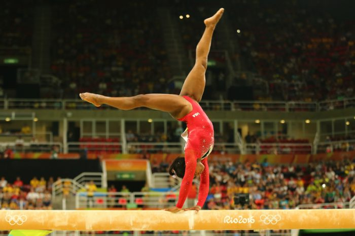 Gymnast Simone Biles is an absolute superstar