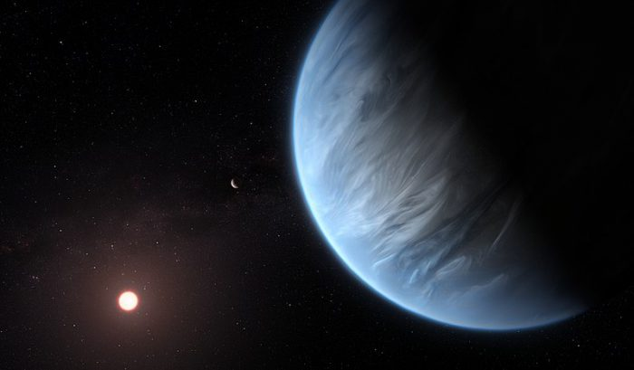 Thirsty? Scientists find potentially habitable water planet