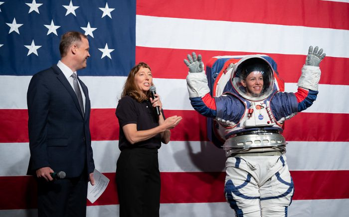 NASA reveals its new Artemis spacesuits