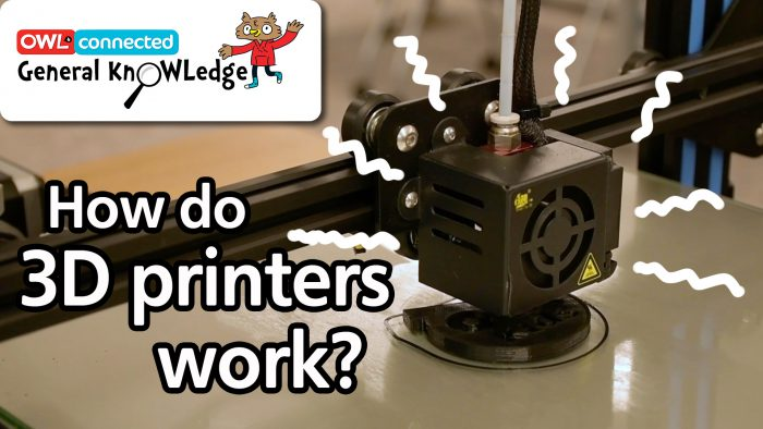 General KnOWLedge: How do 3D printers work?