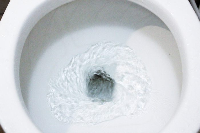 Non-stick toilet coating sends poop right down the drain