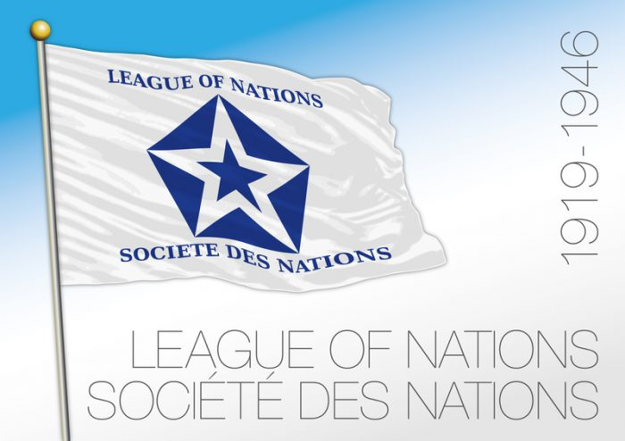100 years ago, the League of Nations was formed