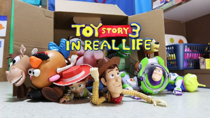 Brothers remake Toy Story 3 in its entirety!
