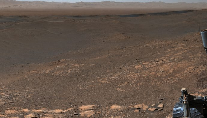 Curiosity rover delivers a super Mars panorama