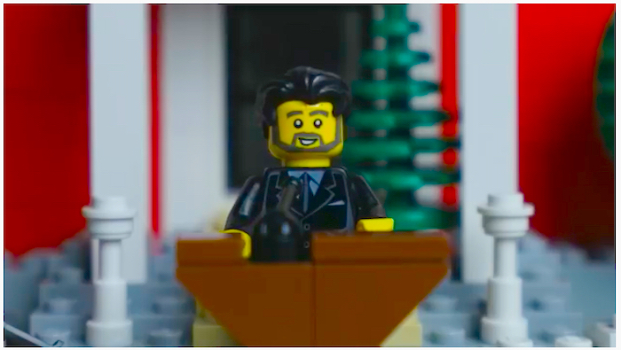 LEGO Trudeau is a big viral hit