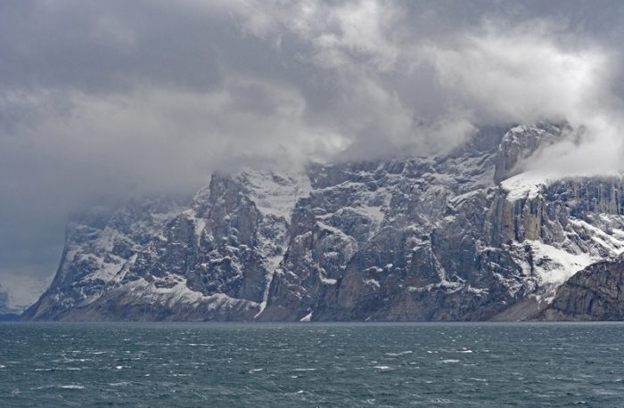 Lost continent found under Baffin Island