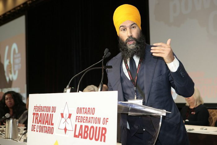 Jagmeet Singh challenges systemic racism in Canada
