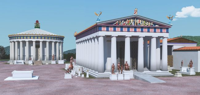 Did the Ancient Greeks build mobility ramps?