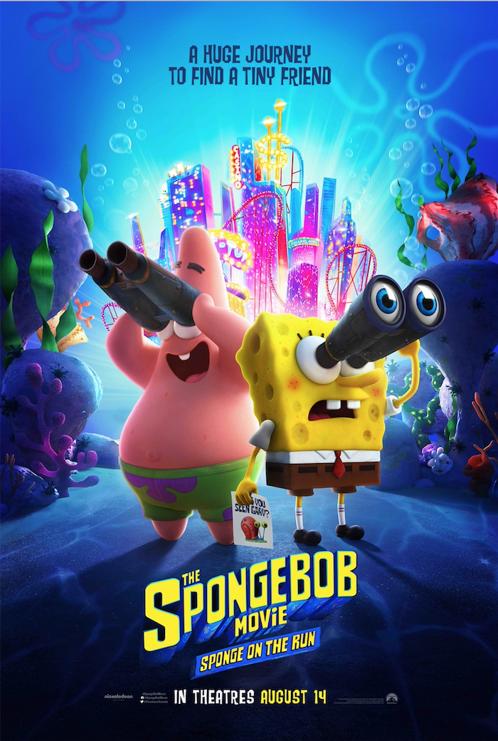 CONTEST: SpongeBob Movie: Sponge on the Run prize pack!