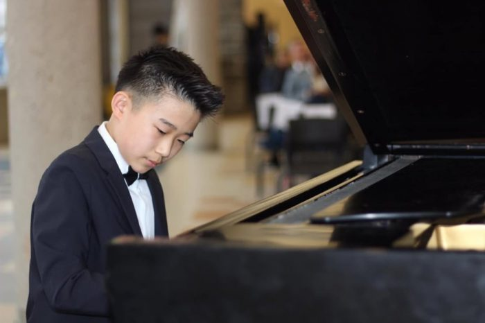 Meet Devin Huang, 13-year-old piano dynamo