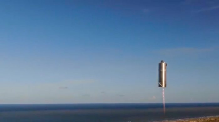 Hop to it! Space X completes test of Starship prototype