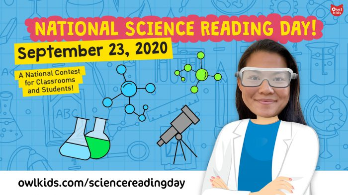 The 2020 Science Reading Day Contest opens tomorrow!
