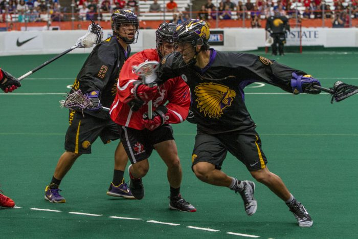 Iroquois Nationals lacrosse team headed to 2022 World Games
