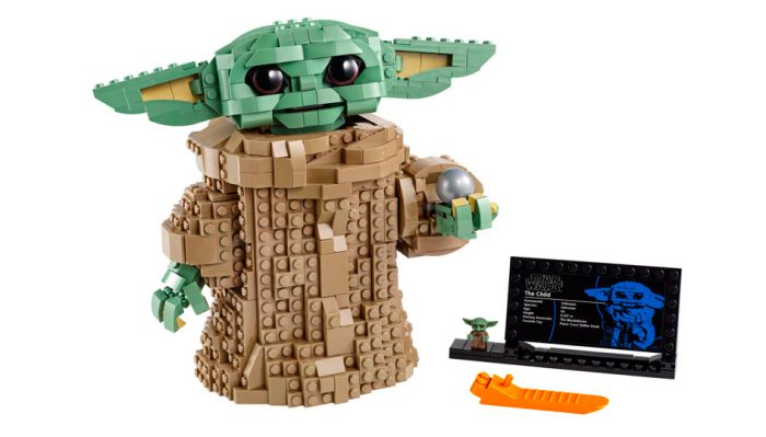 Baby Yoda is now a LEGO set