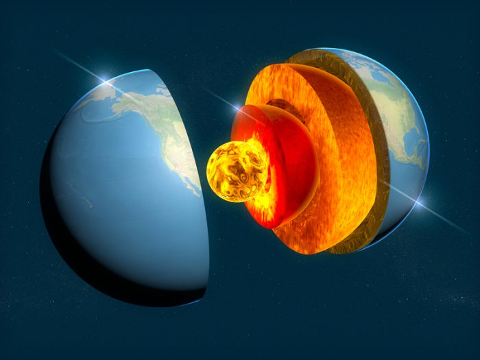 Researchers estimate the age of Earth's inner core