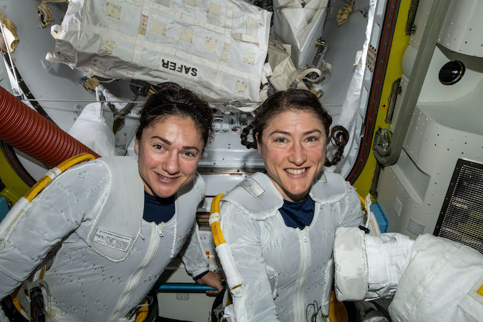 Guinness salutes first all-female spacewalk