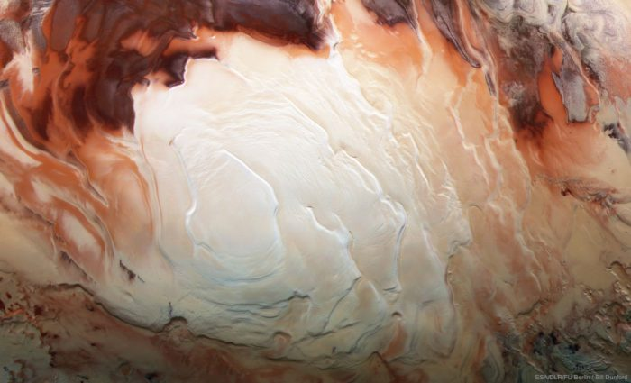 A land of lakes? Study finds more underground water on Mars