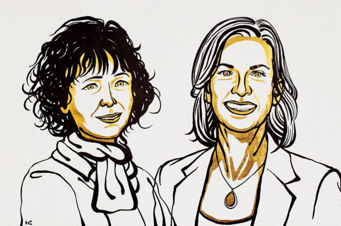 First all-women team wins chemistry Nobel Prize