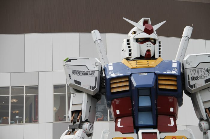 Watch this 'life-size' Gundam robot on the move!