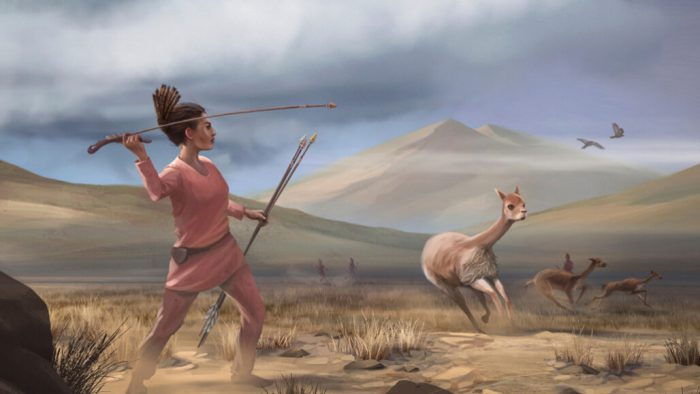 Archeologists believe female hunters were common in ancient Americas