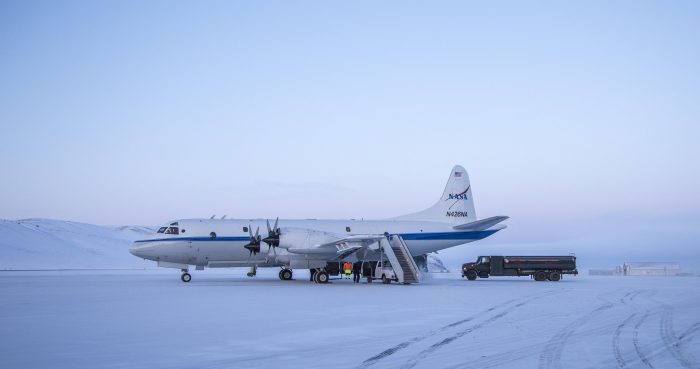 Greenland lake IceBridge