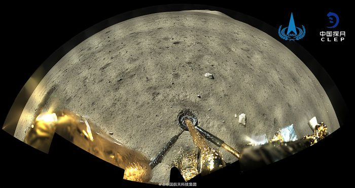 Touchdown! Watch time-lapse of Chang'e 5 landing on Moon
