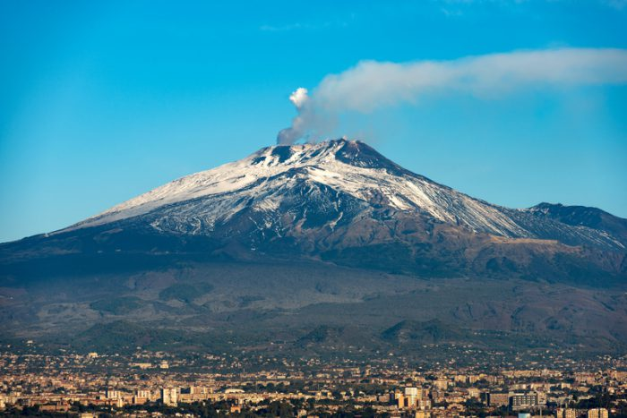 Watch the eruption of Italy's Mount Etna