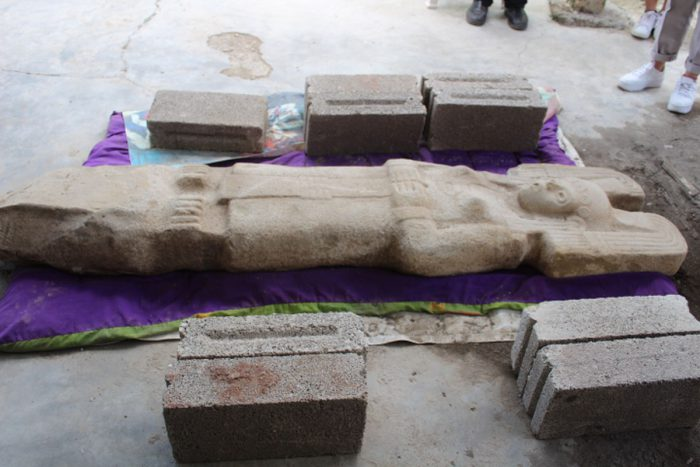 Female Huastec sculpture found in Mexican field