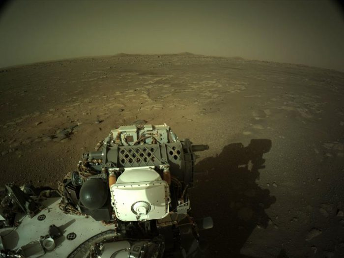 Perseverance checks in direct from Mars