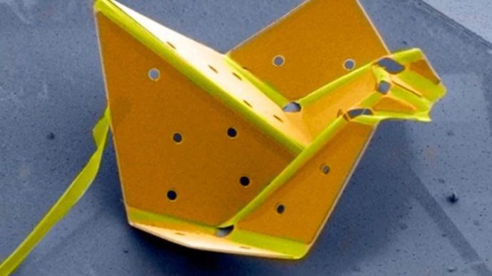 Check out the world's smallest 'origami'—nanotech robots!
