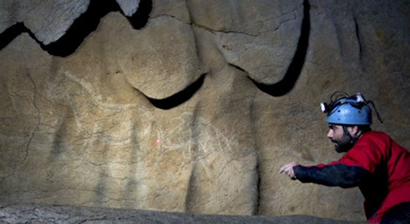 Cave art Atxurra