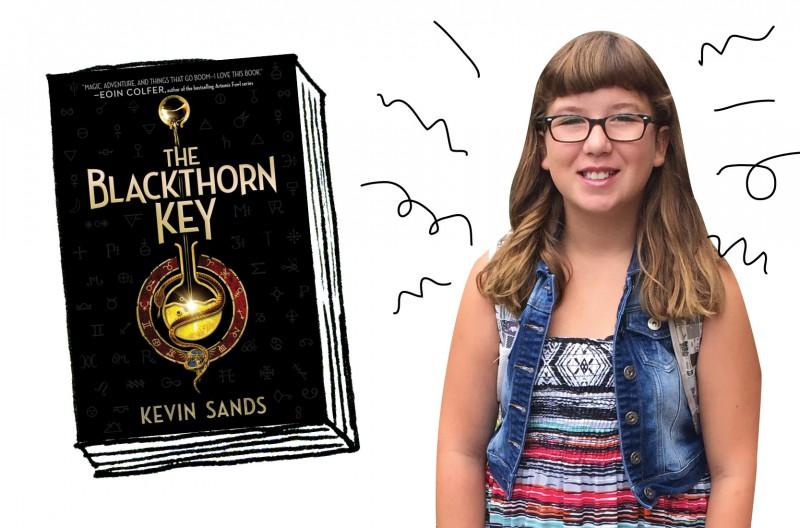 OWL reader Zoe reviews The Blackthorn Key