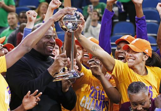 WNBA Magic Johnson, Candace Parker