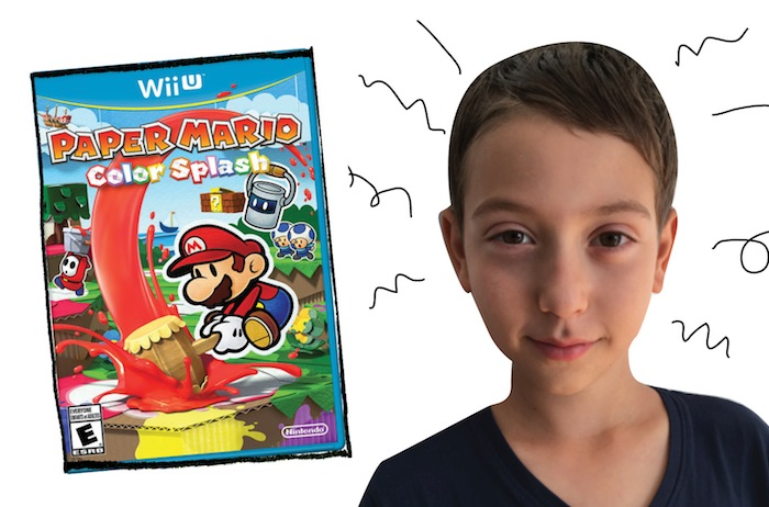 Max and Paper Mario: Color Splash game for the Wii U