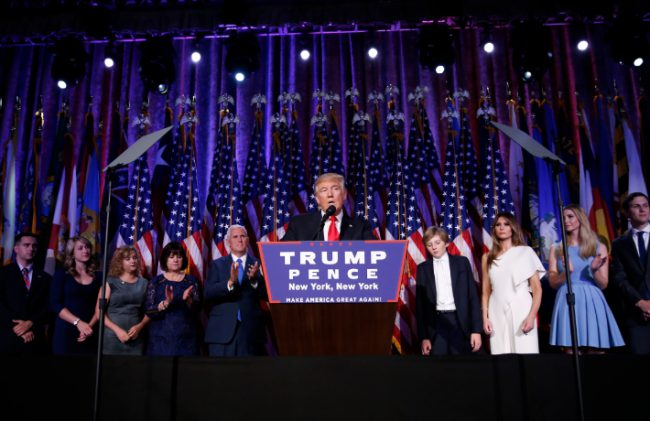 trump election speech