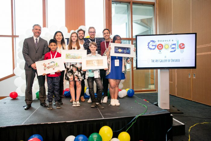 The 2017 Doodle 4 Google winners and judges - 1