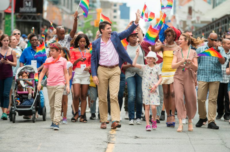 Trudeau Pride Toronto